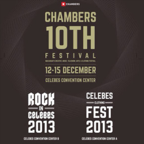 CHAMBERS 10TH FESTIVAL // Makassar's Creative, Music, Talkshow, Art & Clothing Festival