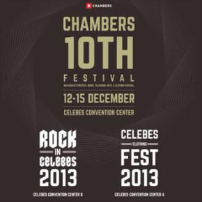 CHAMBERS 10TH FESTIVAL // Makassar's Creative, Music, Talkshow, Art & Clothing Festival