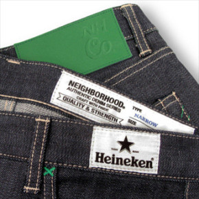 HEINEKEN X NEIGHBORHOOD DENIM