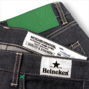 HEINEKEN X NEIGHBORHOOD DENIM