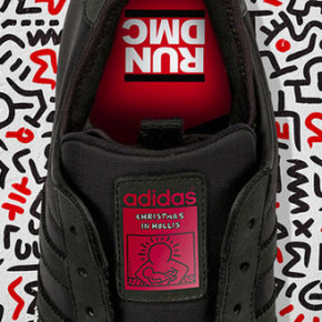 ADIDAS // CHRISTMAS IN HOLLIS RUN-D.M.C SNEAKERS
