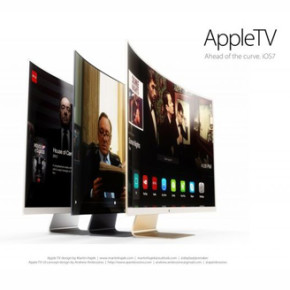 APPLE TV // CONCEPTUAL CURVED SCREEN