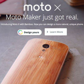 THE MOTO MAKER // CUSTOM-MADE WOODEN PHONE