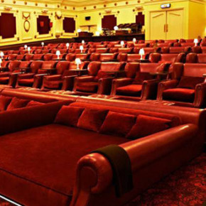 ELECTRIC CINEMA // BRINGS COMFORT TO THE THEATER