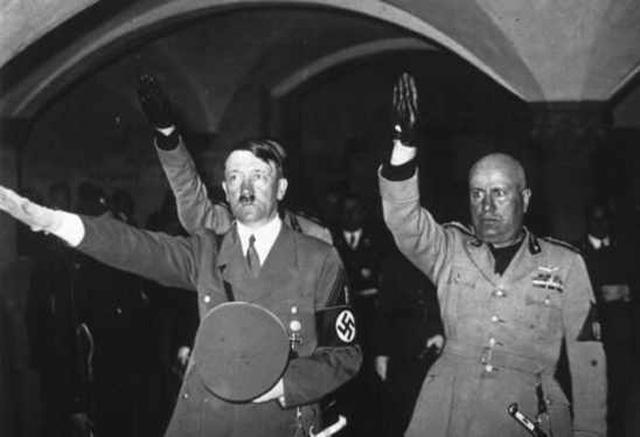 nazi-and-roman-fascist-salute