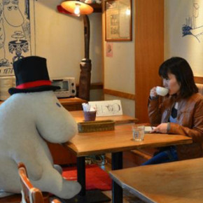 MOOMIN CAFE // CAFE ANTI KESEPIAN