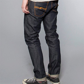 NUDIE JEANS CO. // STEADY EDDIE DRY SELVAGE JEANS