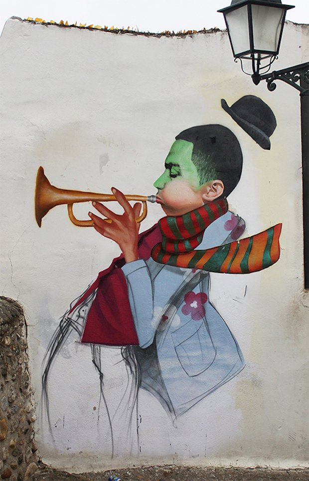 Street-Art-by-Cheko-Winter-Jazz-in-Granada-Spain-2