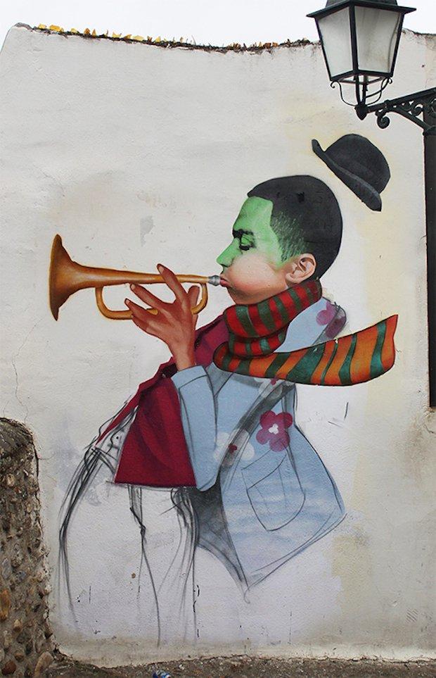 Street-Art-by-Cheko-Winter-Jazz-in-Granada-Spain-2