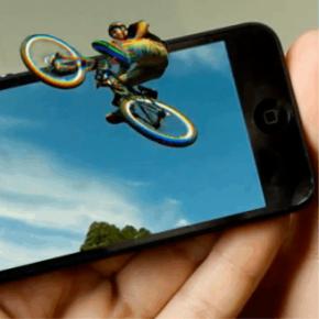 The EyeFly // SENSASI 3D PADA SMARTPHONE