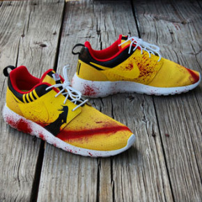 "NIKE ROSHE ""KILL BILL"" // CUSTOMS by GOURMET-KICKZ"