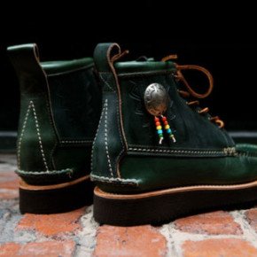 LODEN GREEN // YUKETEN NATIVE MAINE GUEDE BOOTS