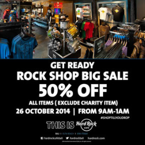 ANNIVERSARY SALE // HARD ROCK CAFE BALI