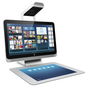MAVE ON GADGET // HP SPROUT PC WITH TOUCH MAT SCREEN AND 3D SCANNER