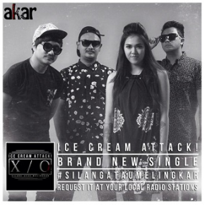 ICE CREAM ATTACK // SILANG ATAU MELINGKAR - SINGLE RELEASE