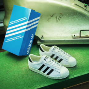 "ADIDAS CONSORTIUM SUPERSTAR ""MADE IN FRANCE"" // 45TH ANNIVERSARY COLLECTION"