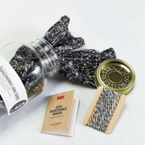 LEVI'S 48 NEEDLE SOCK JAR // SOCK MAINTENANCE MANUAL