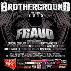 BROTHERGROUND FESTIVAL 2015 // 5th FRAUD ANNIVERSARY