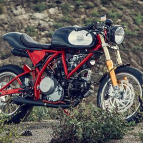 DEUS DREAMLINER // DUCATI CUSTOMED MOTORCYCLE