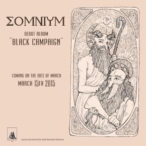 """SOMNIUM - """"BLACK CAMPAIGN"""" // ALBUM RELEASE IN MARCH"""
