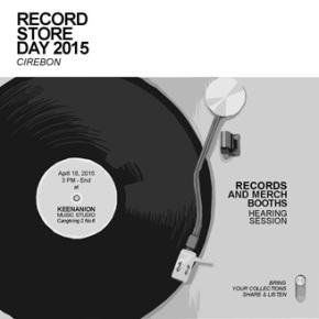 RECORD STORE DAY 2015 CIREBON // RECORD AND MERCH BOOTH
