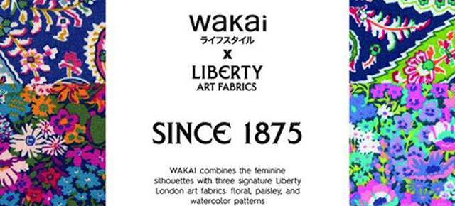 WAKAI x LIBERTY // COLLABORATION SERIES