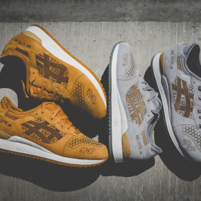 "ASICS TIGER GEL-LYTE III // ""LASER CUT"" PACK EDITION"
