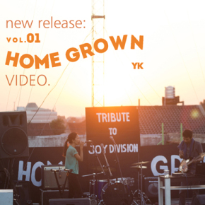 HOMEGROWN VOL.1 // TRIBUTE TO JOY DIVISION