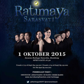 RATIMAYA SARASVATI // WILL BE CONCERT ON OKTOBER 2015