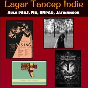 LAYAR TANCEP INDIE//WILL BE PRESENT ON SEPT 2015