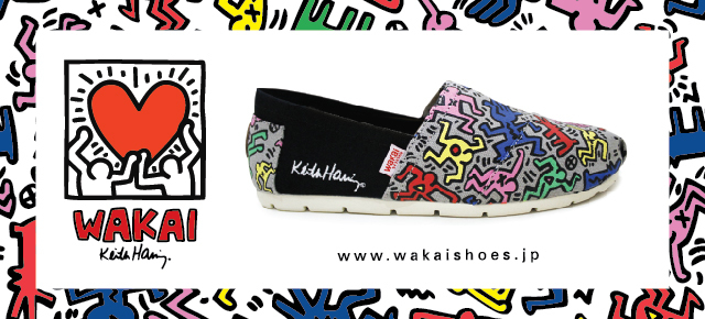 THE NEW PRODUCT WAKAI X KEITH HARING