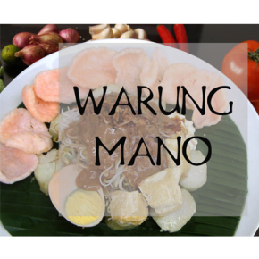 MAVE ON KULINER // WARUNG MANO