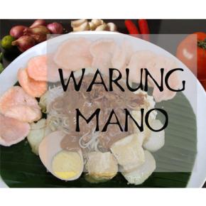 MAVE ON KULINER // WARUNG MANO