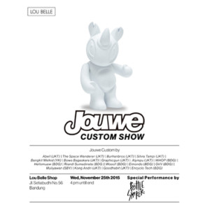 JOUWE 3 INCH CUSTOM GROUP SHOW