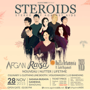 """STEROID ''STEREO ACT AGAINST AIDS"""""""