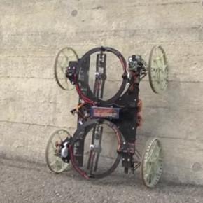 DISNEY // ROBOT RODA EMPAT YANG BISA MEMANJAT TEMBOK