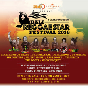 BALI REGGAE STAR FESTIVAL 2016