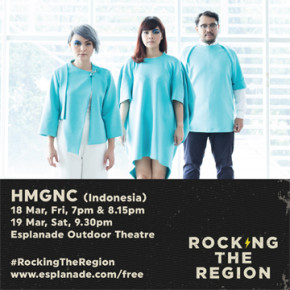 "HMGNC // SINGLE RELEASE ""THIS TOO SHALL PASS"" DI ROCKING THE REGION SINGAPORE"