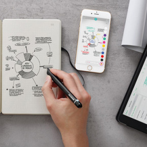 MOLESKINE'S // SMART WRITING SET