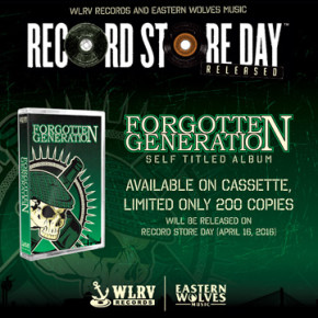 FORGOTTEN GENERATION // RILIS ALBUM VERSI KASET TAPE
