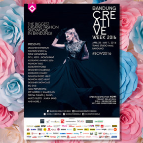 BANDUNG CREATIVE WEEK 2016 // THE EMBELLISH MODA