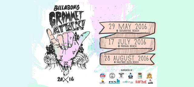 BILLABONG GROMMET ATTACK SERIES IS BACK