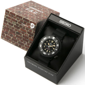 FREEMANS SPORTING CLUB & LOWECASE // HELP DELIVER A SPECIAL SEIKO TIMEPIECE