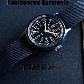 TIMEX AND ENGINEERED GARMENTS // CLASSIC CAMPER WATCH