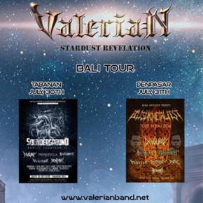VALERIAN // BALI TOUR 2016