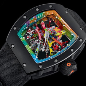KONGO X RICHARD MILLE // HAND PAINTED TOURBILLON