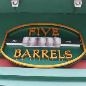 FIVE BARRELS KUTA BALI