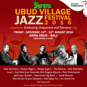UBUD VILLAGE JAZZ FESTIVAL 2016