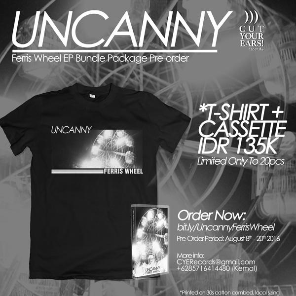 UNCANNY---Ferris-Wheel-EP-Pre-order-Poster