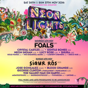 MORE GREAT ACTS FOR NEON LIGHTS 2016